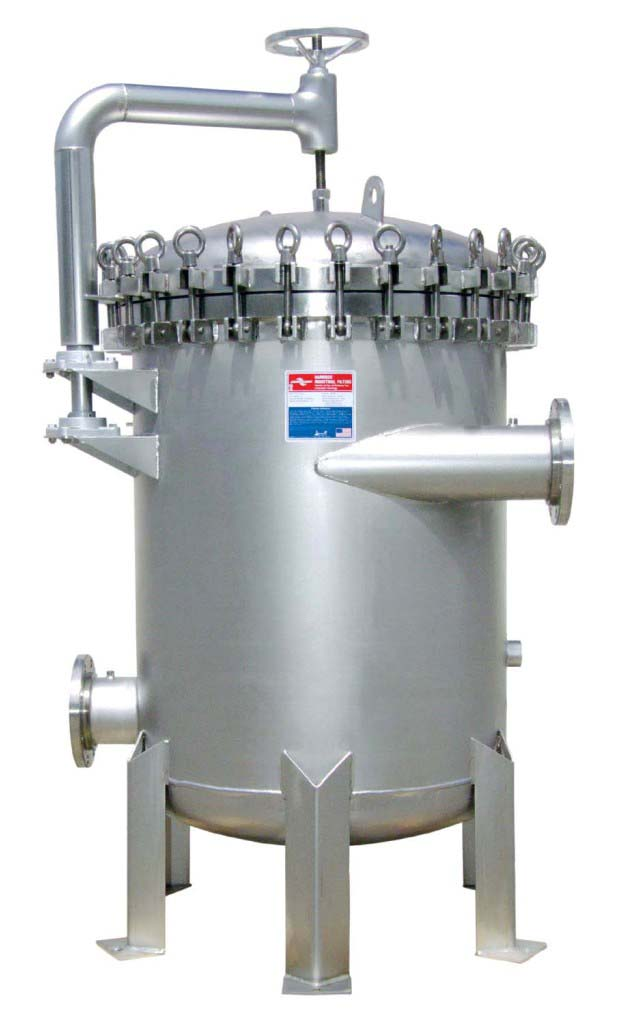 Harmsco Hurricane Swing Bolt 1200 GPM Industrial Up-Flow Filter
