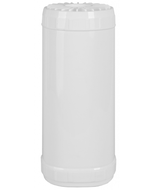 "Big Blue White Refillable Filter Canister 4.5"" x 10"" 