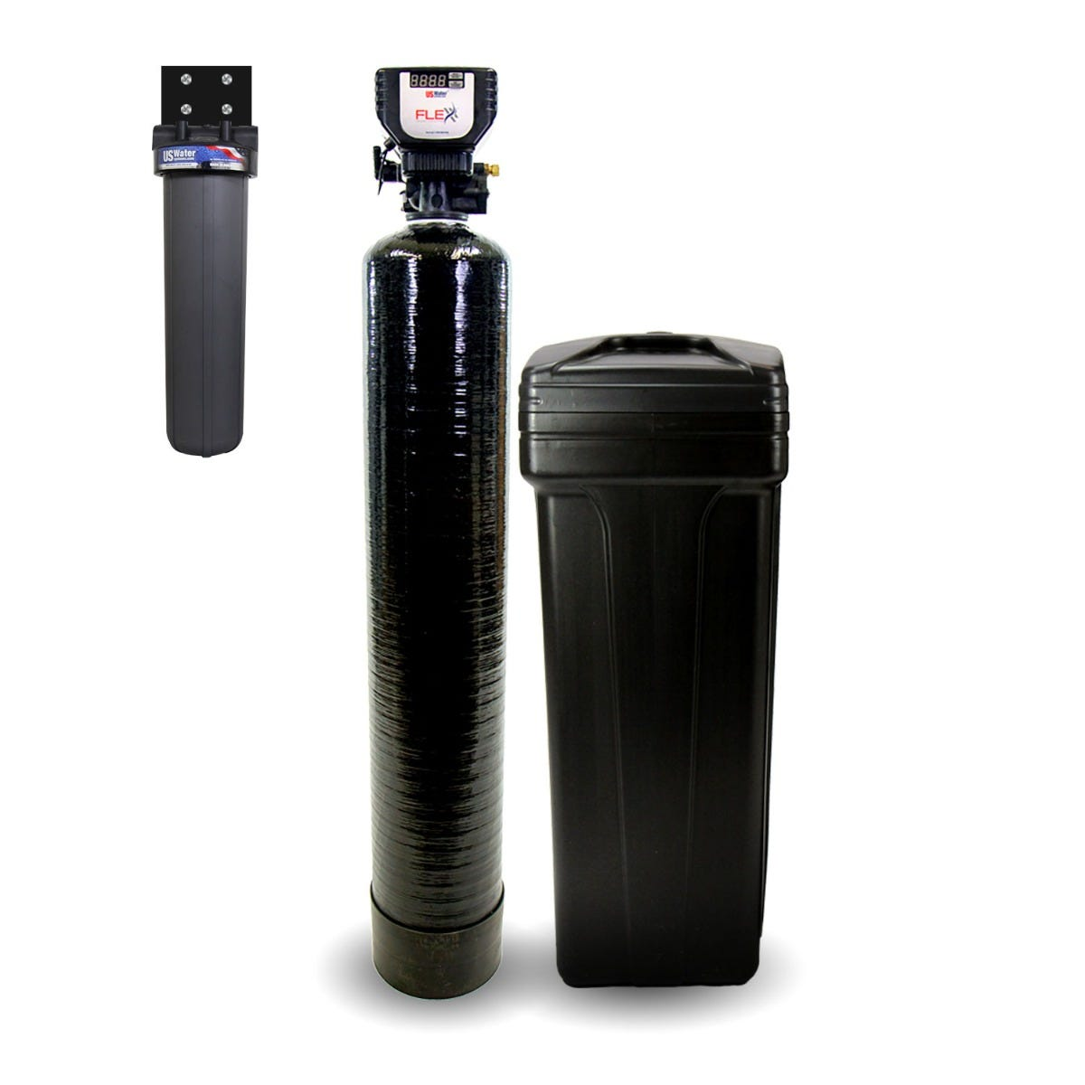 Flex High-Performance Metered Compact Water Softener-Flex-24