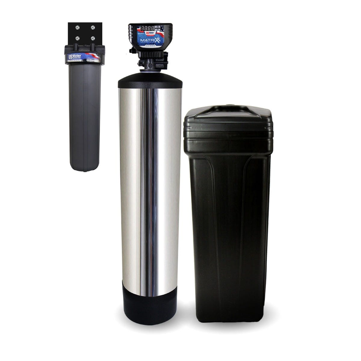 Fusion Nlt Combo Commercial Grade Metered Water Softener