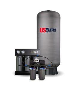 US Water Raptor 750 GPD Coffee Shop System - 120 Gallon Composite Tank