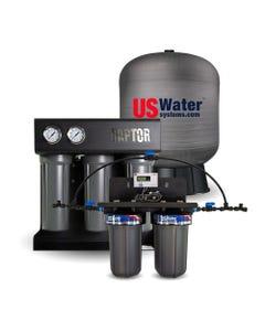 US Water Raptor 750 GPD Coffee Shop System - 20 Gallon Composite Tank
