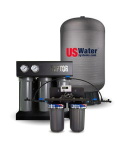 US Water Raptor 750 GPD Coffee Shop System- 40 Gallon Composite Tank