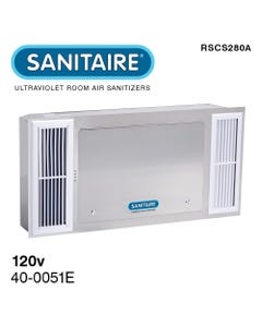 Sanitaire RSCS280A Recessed Ceiling Mount UV-C Air Sanitizer