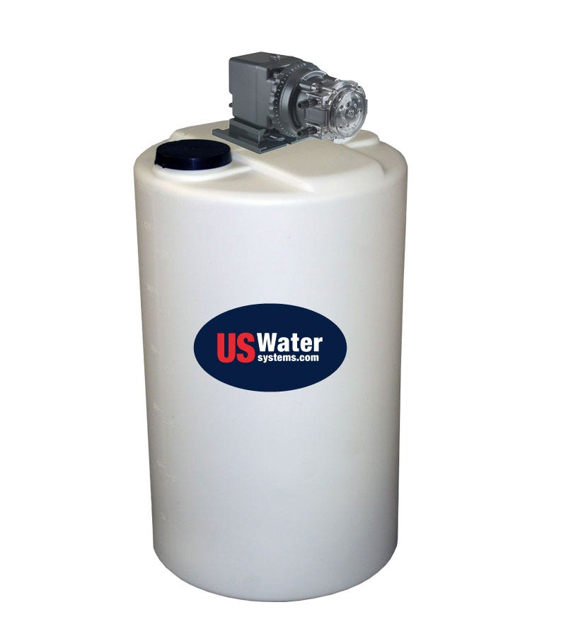 US Water Anti-Scalant Injection System | 15 Gallon Tank