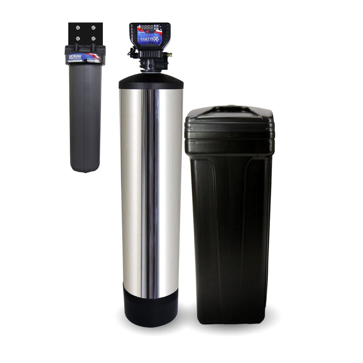 Fusion NLT Professional-Grade Metered Water Softener