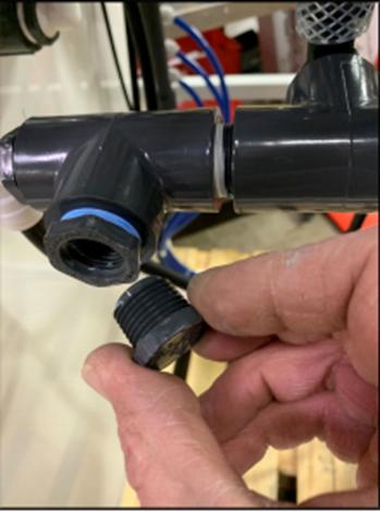 pipe plug open
