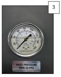 Pre-Filter Pressure Gauge