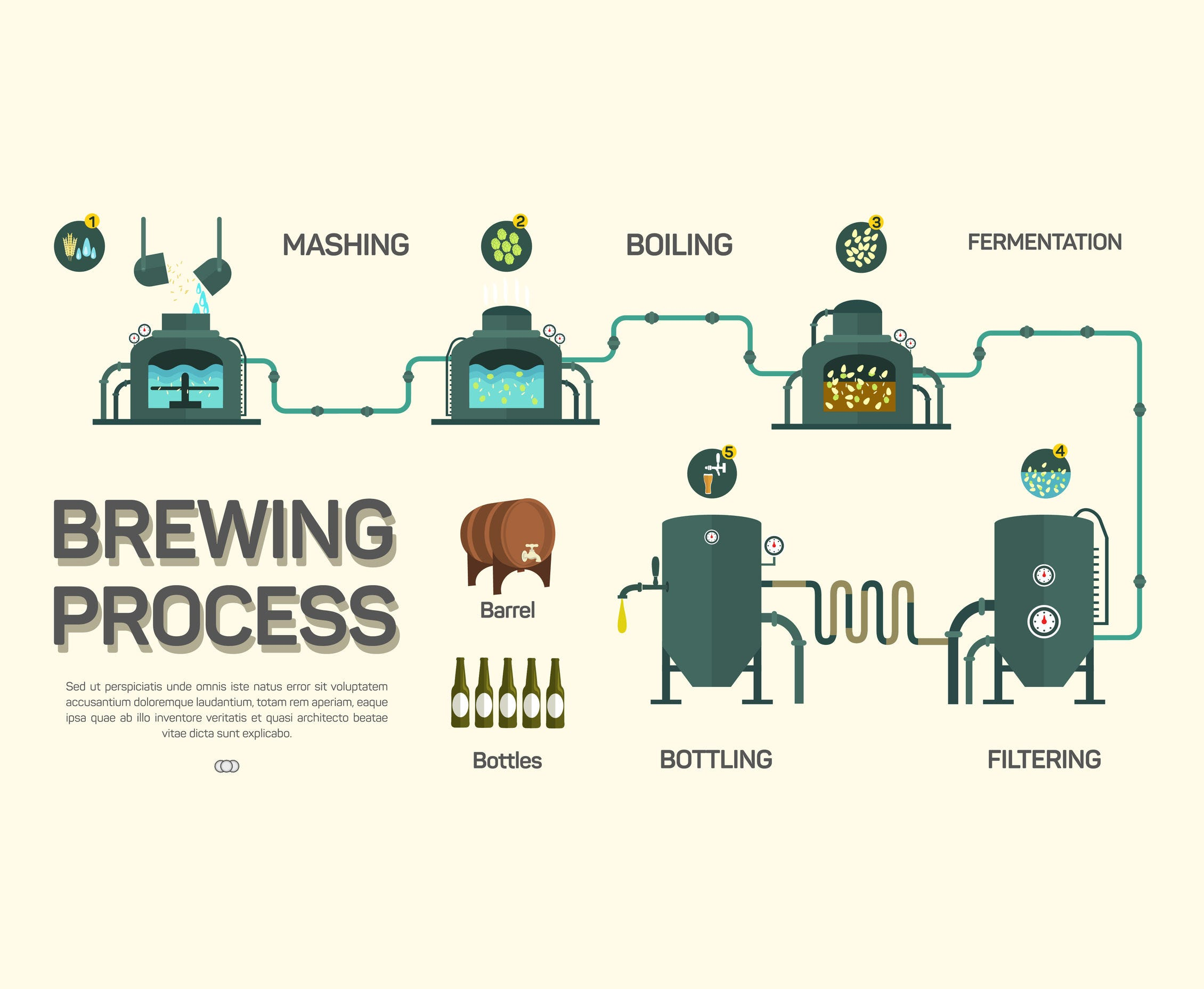 the beer brewing process