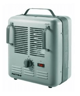 A small eletric heater to prevent water from freezing