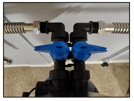 DIY step 10 on how to install a water softener