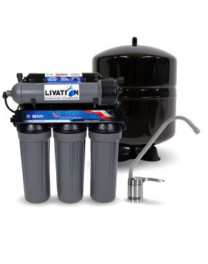US WATER SYSTEMS ALL AMERICAN 6 STAGE ALKALINE REVERSE OSMOSIS SYSTEM