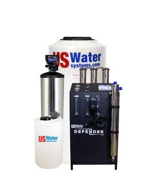US WATER DEFENDER WHOLE HOUSE RO SYSTEM