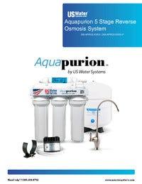 US Water Aquapurion RO Manual