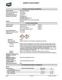 Iron Reagent SDS