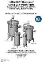 Harmsco Hurricane Swing Bolt Operation Manual