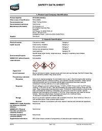 Chlorine Indicator Solution SDS