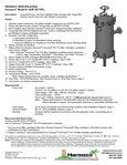 HUR 3X170FL Specification Sheet