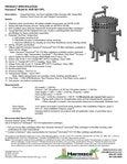 HUR 8X170FL Specification Sheet