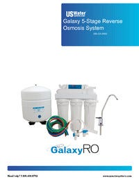 US Water Galaxy 5-Stage RO Manual