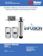 US Water Infusion Dual Panel Manual