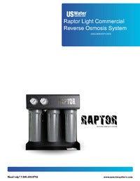 US Water Raptor System Manual