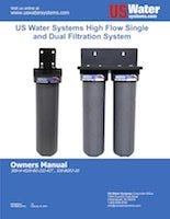 US Water Single And Dual Filter Housing Manual