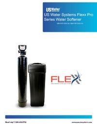US Water Flexx Pro Series Water Softener Manual