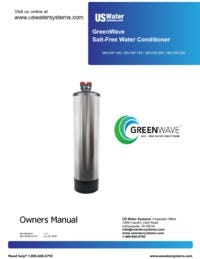 US Water Systems GreenWave Manual