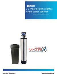 US Water Systems Matrixx Hybrid Manual