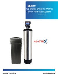 US Water Matrixx Tannin System Manual
