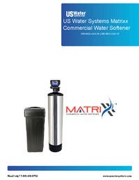Matrixx Water Softener Manual
