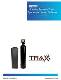 US Water Traxx Water Softener Manual