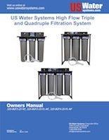 US Water Triple And Quad Filter System Manual