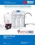 US Water American Revolution RO System Manual