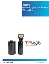 US Water Traxx Mini Water Softener Manual