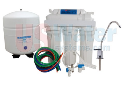US Water Aquapurion 5-Stage Reverse Osmosis System With Enhanced Fluoride Removal