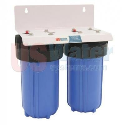 US Water Big Blue Double Cartridge Filtration System