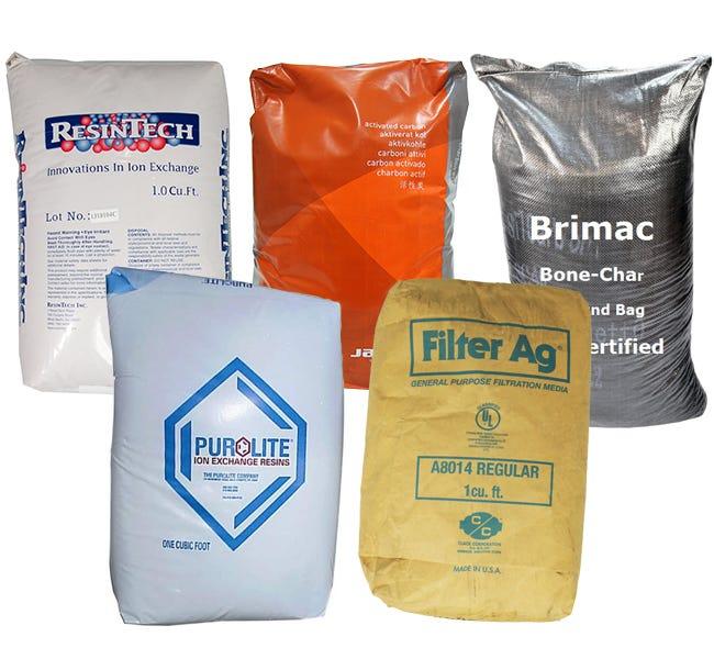 Residential Water Softener Filter Media