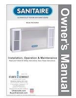 Sanitaire RSCS280A Manual