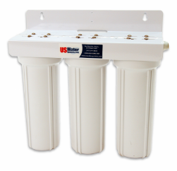 US Water Triple Filter Housing