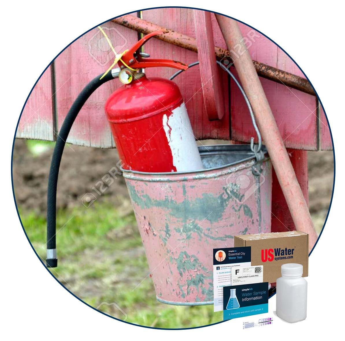 PFAS water test